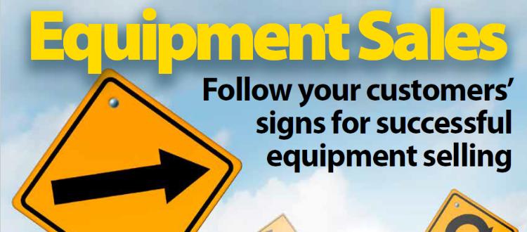 Equipment Selling Strategies
